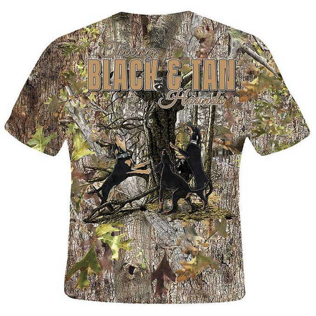 Treeing Black & Tan Hounds T-Shirt