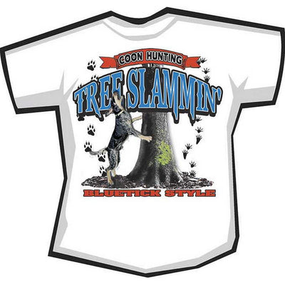 Tree Slammin Bluetick T-Shirt