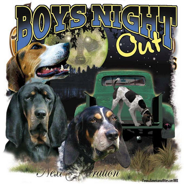 Boys Night Out Decal