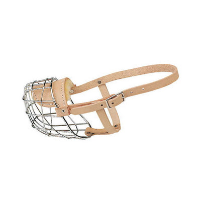 Wire Basket Style Muzzle For Dogs