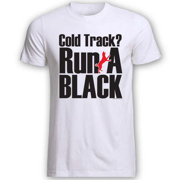 Run a Black T-Shirt