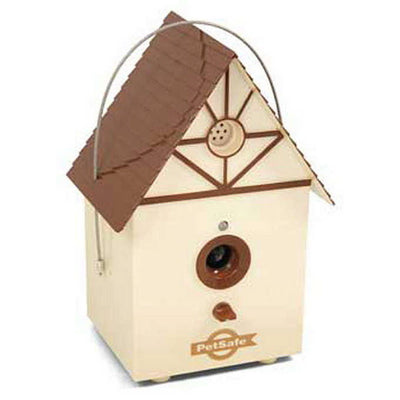Petsafe Outdoor Bark Control Birdhouse
