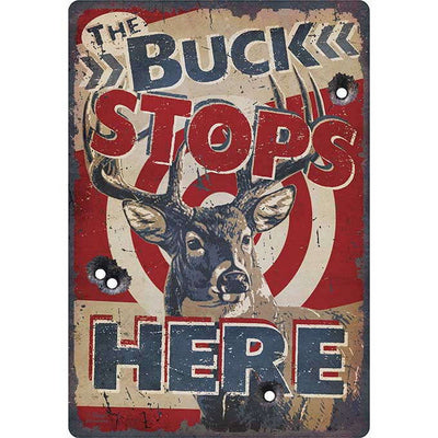 Buck Stops Here Sign