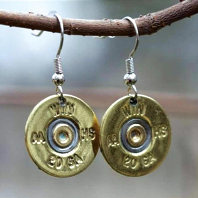20 Gauge Shell Earrings