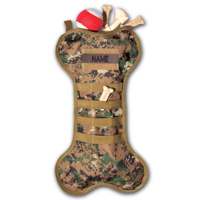 Camo Bone Tactical Stocking