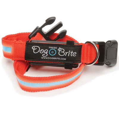 Dog Brite Waterproof Lighted Collar
