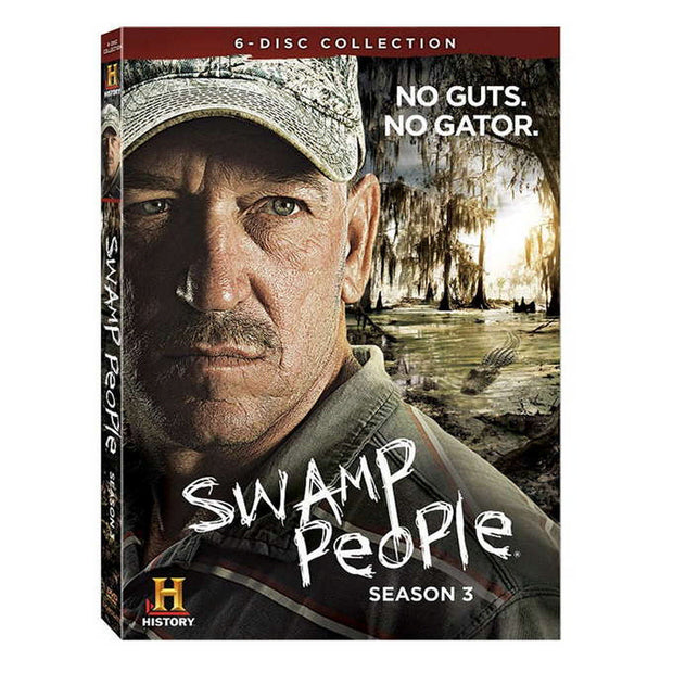Swamp People Season 3 DVD