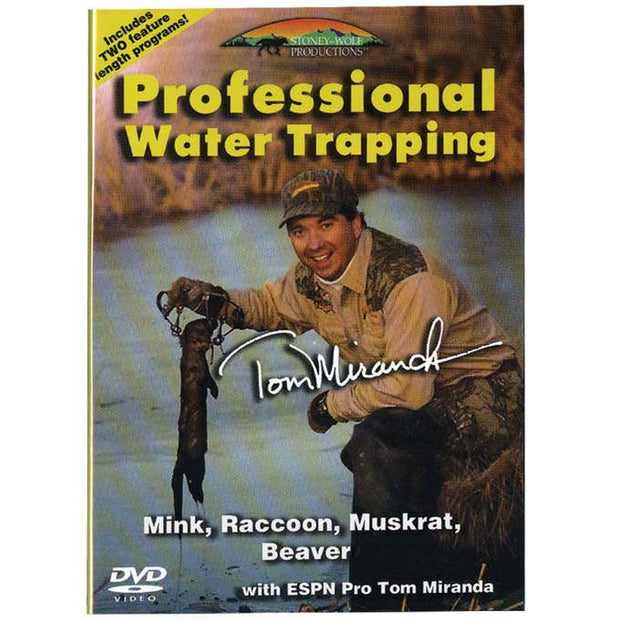 Professional Water Trapping DVD