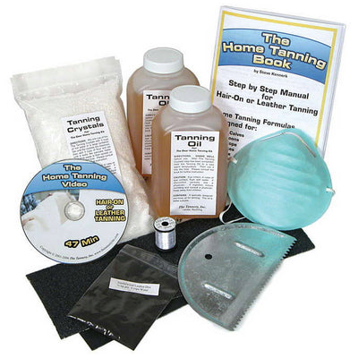 Complete Home Hide Tanning Kit