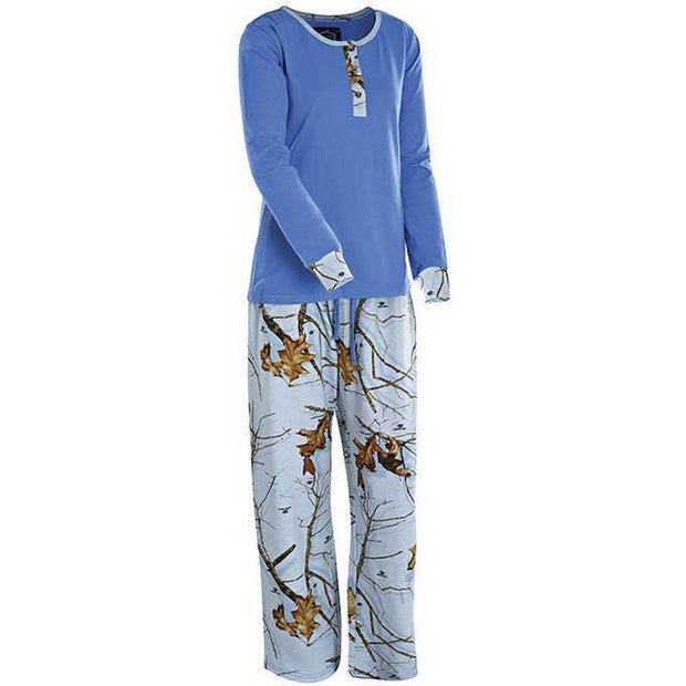 Ladies Henley Sleepwear Set
