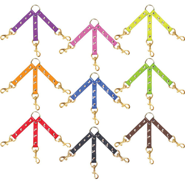 Nite Lite Day-Glo Three Dog Lead Couplers