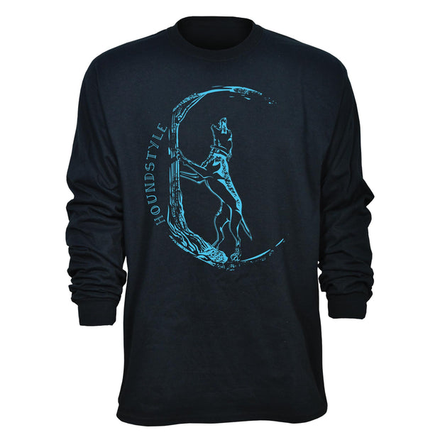 Houndstyle Treeing Dog Long Sleeve T-Shirt