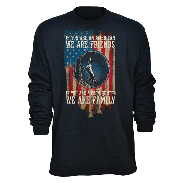Coon Hunter Family Long Sleeve T-Shirt