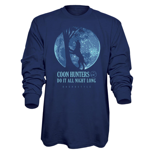 HoundStyle Moon Long Sleeve T-Shirt