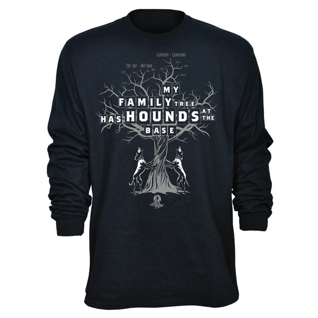 Family Tree Hounds Long Sleeve T-Shirt