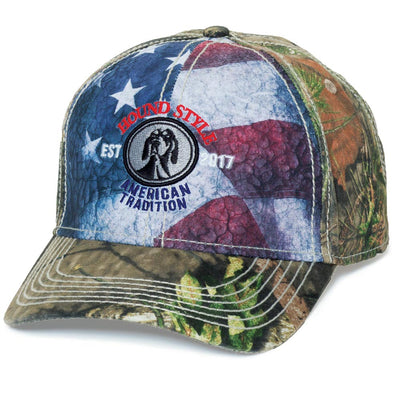 American Flag HoundStyle Hat