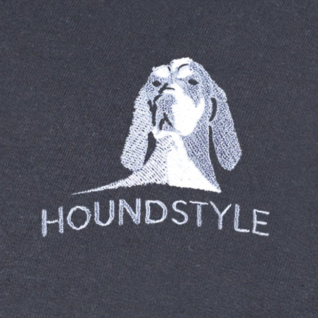 HoundStyle Black Qtr. Zip Pullover