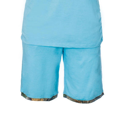 Blue Sleep Shorts
