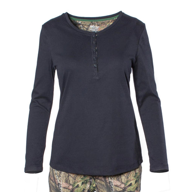 Women's Henley Sleep Shirt