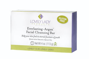 Everlasting-Argan Facial Cleansing Bar - LovelyLadyProducts