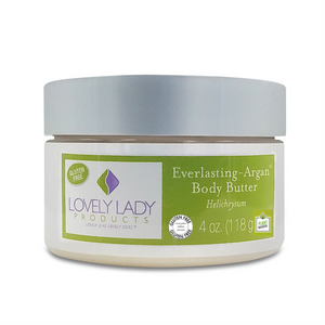 Everlasting-Argan Helichrysum Body Butter (Help your skin find its eternal fountain of youth) - LovelyLadyProducts
