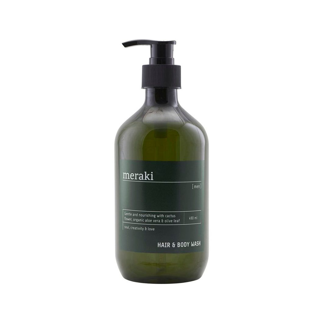 Hair and body wash, men