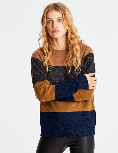 Nathalie, Ice Stripe, Knit