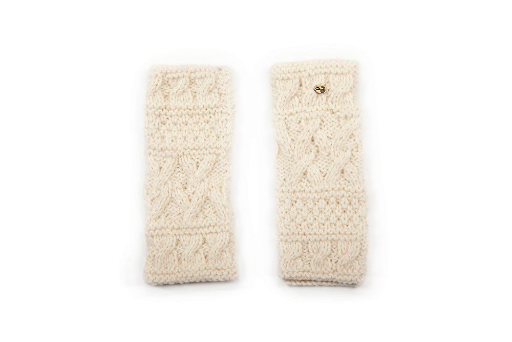 BONE Fingerless Gloves