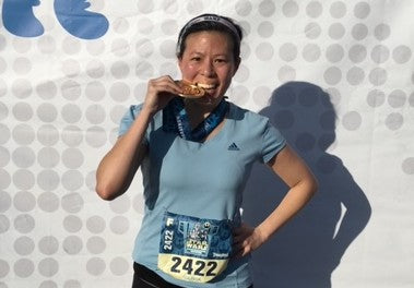 Meet Be You runner Olivia Wong