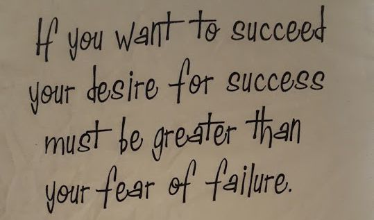 fear of failure image