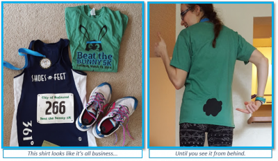 Beat the Bunny 5k outfit