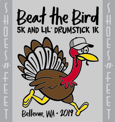 2019 Beat the Bird Finishers Medal