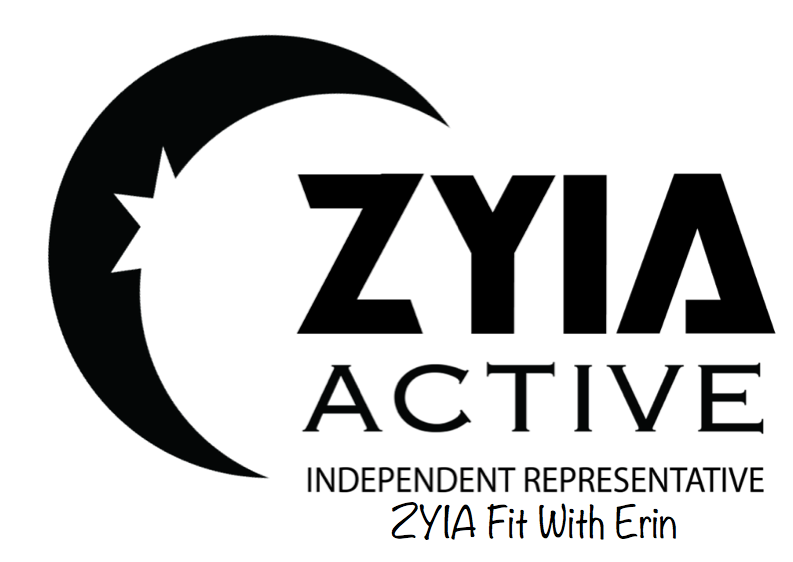 Zyia Active with Erin logo