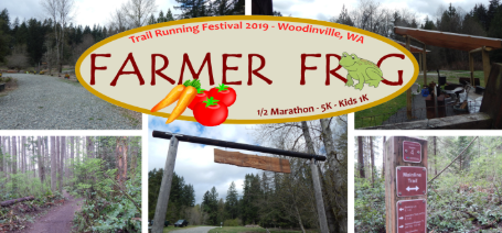 Farmer frog Trail Running Festival