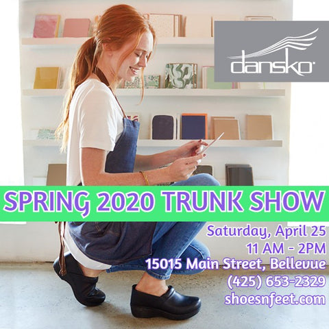 Dankso Trunks Show April 25 at SHOES-n-FEET