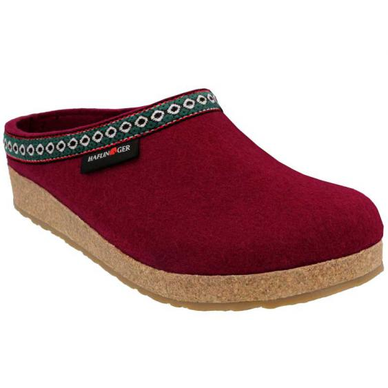 GRIZZLY CLASSIC WITH EMBROIDERY BORDO