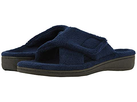 VIONIC RELAX SLIPPER NAVY