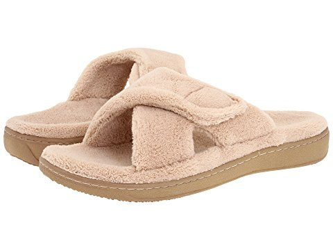 VIONIC RELAX SLIPPER TAN