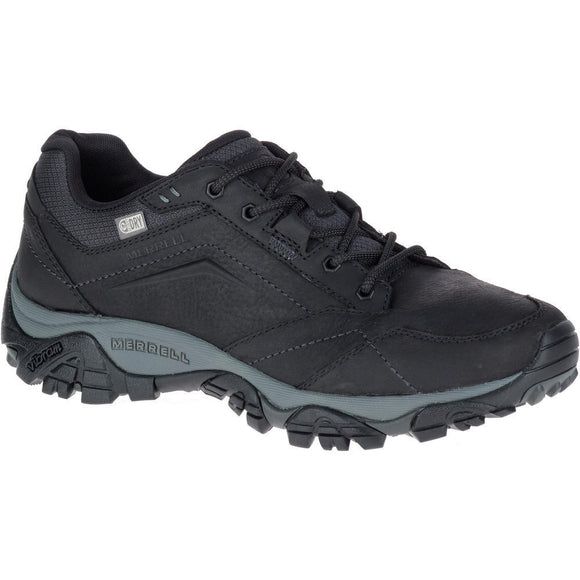 MERRELL MOAB ADVENTURE LACE WIDE WATERPROOF BLACK - J91821W WIDE