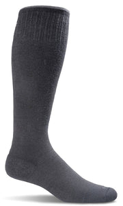 SOCKWELL CIRCULATOR STRIPE MEN COMPRESSION 15-20mmHG - SW1M-BLACK