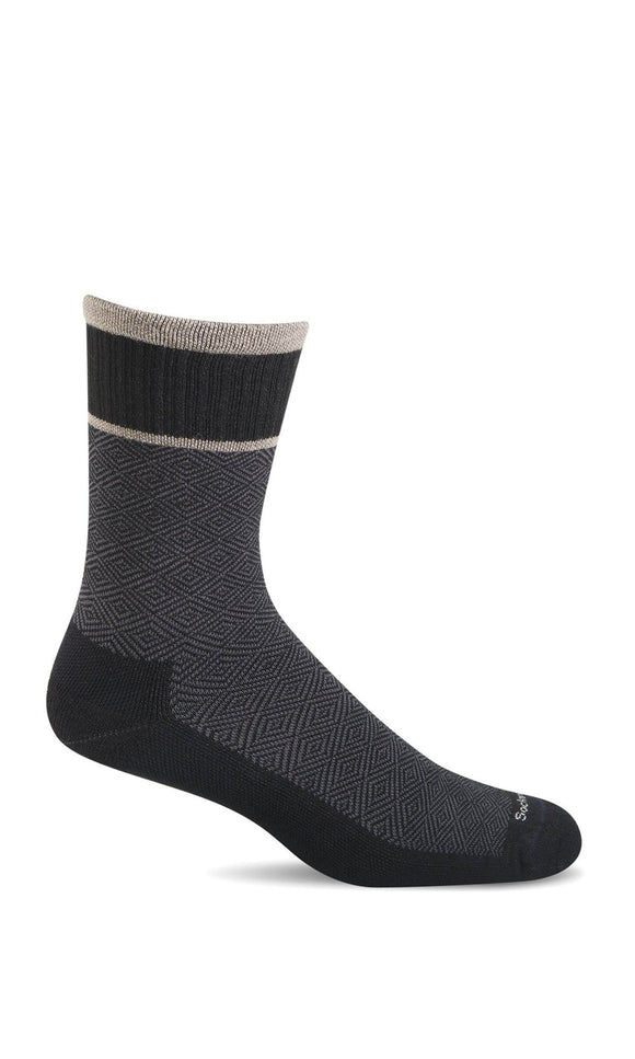 SOCKWELL PLANTAR CRUSH MEN - SW29M-900 BLACK
