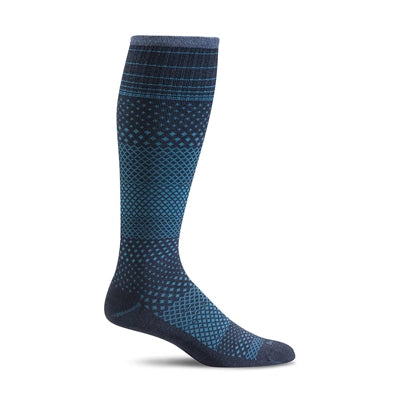 SOCKWELL MICRO GRADE NAVY COMPRESSION 15-20mmHG - SW36W-NVY
