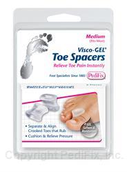 PEDIFIX GEL TOE SPACER - PFP28D