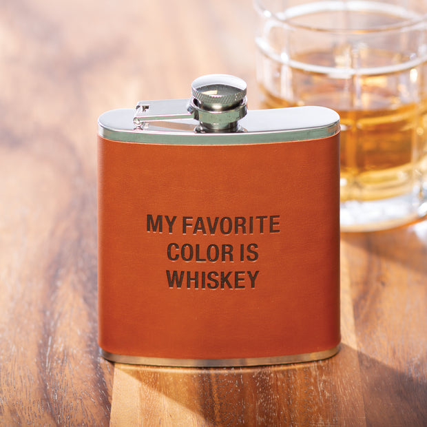 Favorite Color Flask