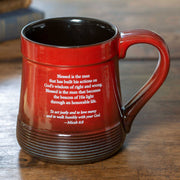 Man of Integrity Pottery Mug