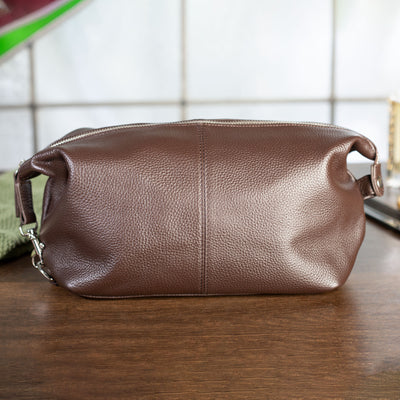 Stanford Genuine Leather Toiletry Bag