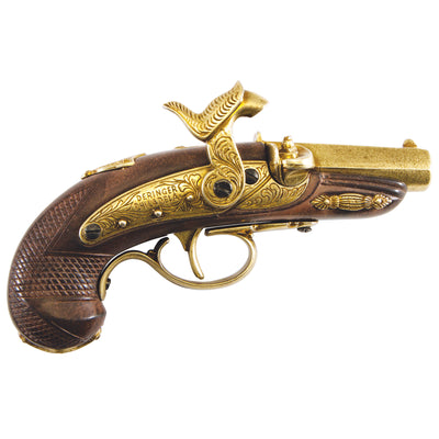Philadelphia Derringer Cap Firing Replica Brass
