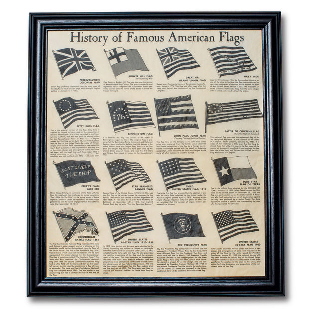 History of American Flags