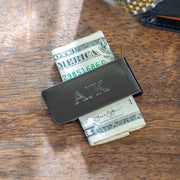 Personalized Gun Metal Money Clip