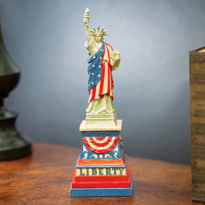 Patriotic Statue of Liberty